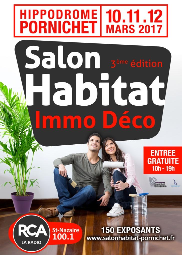 Participation au Salon de l'Habitat les 10,11 et 12 mars 2017 à l'hippodrome de Pornichet